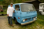 blue van man