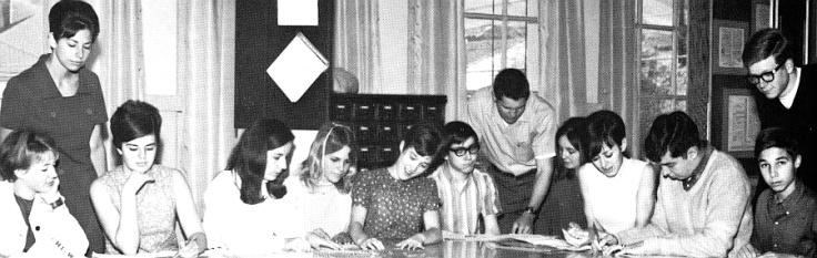 1968 newspaper staff