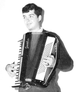 A guy and his accordion