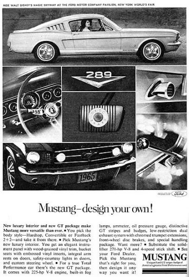 1965_Ford_Mustang_print_advertisement